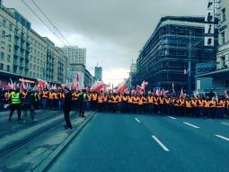 fot. Twitter (Marsz Niepodległości)