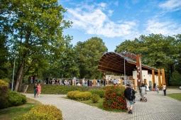 Na zdjęciu Park Zdrojowy w Konstancinie-Jeziornie
