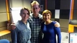 Marta Kielczyk, Kasia Morawska i Tomek Dunowski