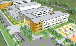 fot. Urząd Dzielnicy Białołęka (wizualizacja szkoły)