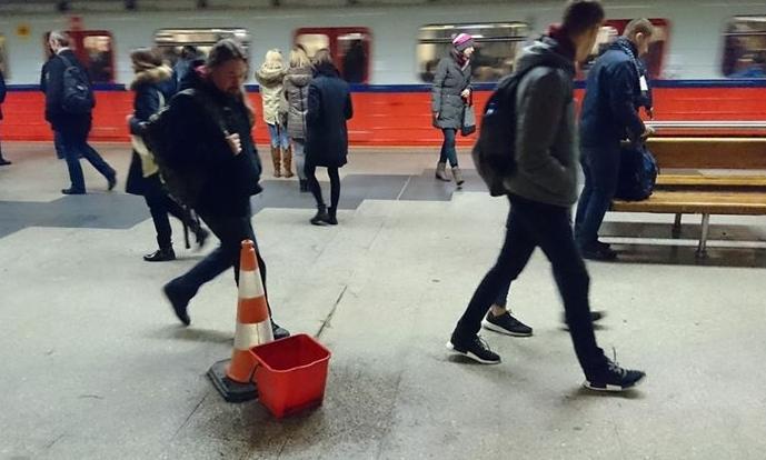 Tak wygląda peron stacji Politechnika (fot. info@radiokolor.pl)