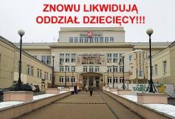 fot. Facebook (Szpital Bielański - znów bronimy oddziału chirurgii dla dzieci)