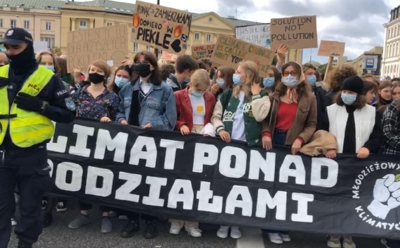 fot. zrzut ekranu z transmisji Greenpeace Polska na Facebooku