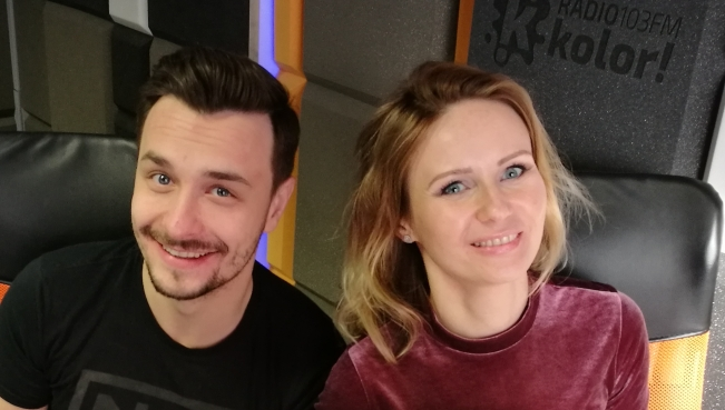 Marcin Łukasik i Justyna Sokołowska