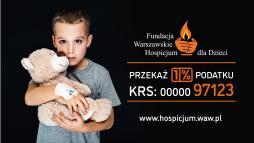 fot. Fundacja Warszawskie Hospicjum dla Dzieci